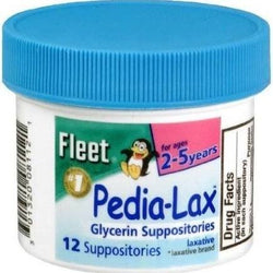 Fleet Glycerin Childern Suppositories 12 Count
