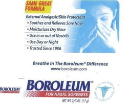 Boroleum Analgesic Nasal Ointment 0.60 oz