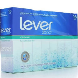 Lever 2000 Perfectly Fresh Original Scent Soap 16 Bars 4 OZ