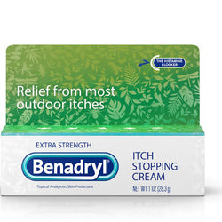 Benadryl Itch Stopping Cream, Extra Strength 1 OZ