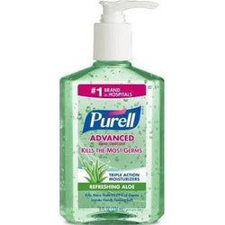 Purell Advanced Hand Sanitizer Refreshing Aloe 8 OZ with Pump