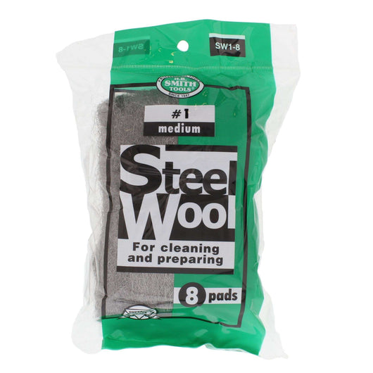 #1 MEDIUM STEEL WOOL 8PAD