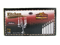 72 Count Shabbat Candles
