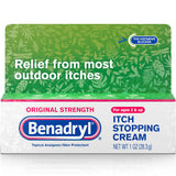 Benadryl Itch Stopping Cream, Original Strength 1 OZ