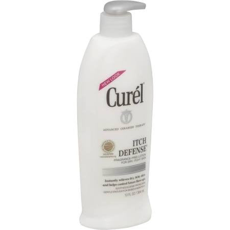Curel Itch Defense Moisture Lotion for Dry Itchy Skin 13 OZ