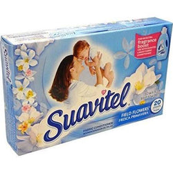 Suavitel Dryer Sheet 20 Count