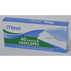 Mead All-Purpose Security Envelopes White 4 1/8