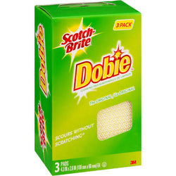 Scotch-Brite Dobie Cleaning Pads 3 Count