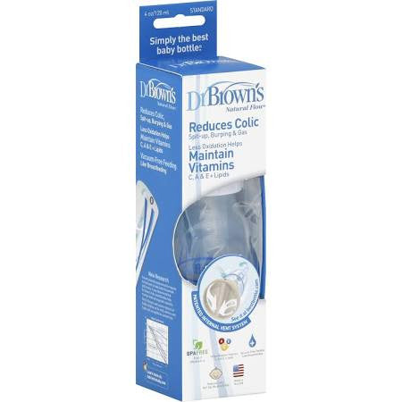Dr. Brown's Natural Flow Baby Bottle 4 OZ