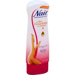 Nair Hair Remover Lotion For Legs & Body, Cocoa Butter 9 OZ