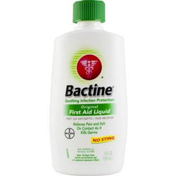 Bactine Original First Aid Liquid No Sting 4 OZ