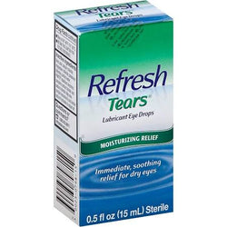 Refresh Tears Lubricant Eye Drops 0.5 oz bottle