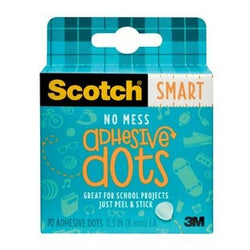Scotch ADHESIVE DOTS PERMANENT 70 Pack
