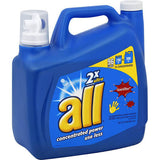 All Liquid Laundry Detergent with Stainlifters HE Original, 100 LOADS 150 OZ