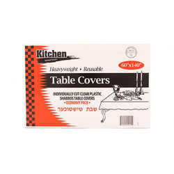 Clear Plastic Table Covers