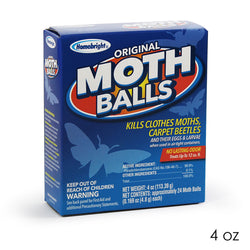 Moth Balls 4 Oz Orginal