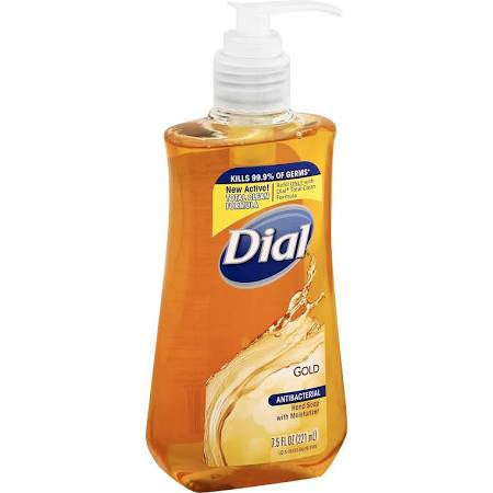 Dial Gold Antibacterial Hand Soap with Moisturizer 7.5 oz