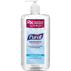 Purell Advanced Hand Sanitizer 33.8 OZ with Pump