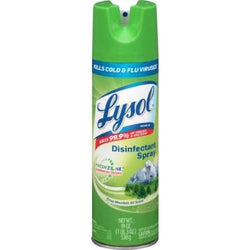Lysol Disinfectant Spray Crisp Mountain Air 19 OZ