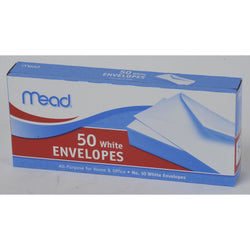 Mead All-Purpose Envelopes White 4 1/8