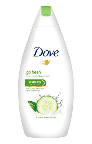 Dove Body Wash Go Fresh Cucumber & Green Tea 16.9OZ