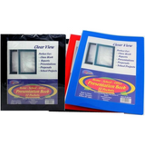 A+ Homework Presentation Book Clear View Frame 10 Pocket