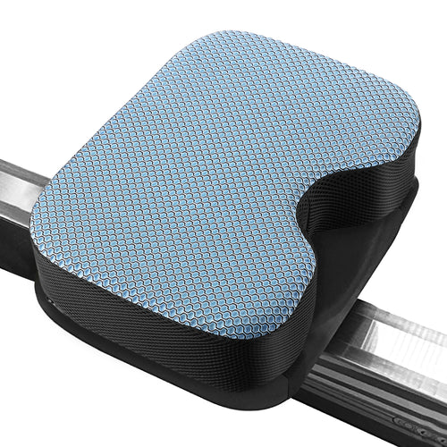 Kohree Rowing Machine Seat Cushion Model 2 Pad with Thicker Memory Foam, Washable Cover and Straps - kohree