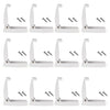 Kohree RV Door Catch, 12PCS, Door Clip Compartment Catch Holders for RV, Trailer, Camper, Baggage Door