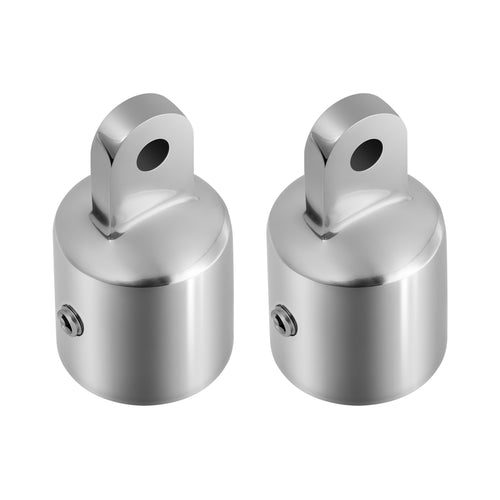 Kohree Bimini Top Caps Eye End Top Fitting Hardware Boat 316 Stainless Steel for Canopy,1''(2 Pack) - kohree