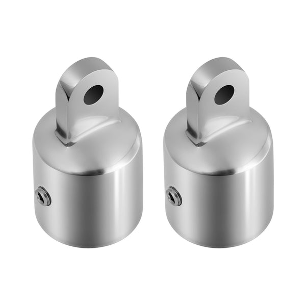 Kohree Bimini Top Caps Eye End Top Fitting Hardware Boat 316 Stainless Steel for Canopy,1''(2 Pack)