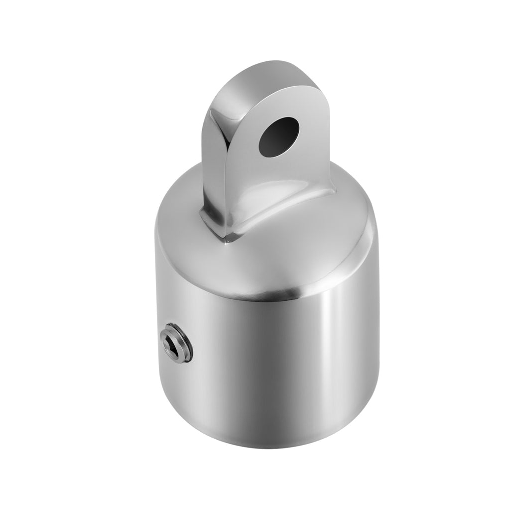 25mm Bimini Top Cap Tube Canopy Hardware,Eye End Top Fitting Stainless Steel