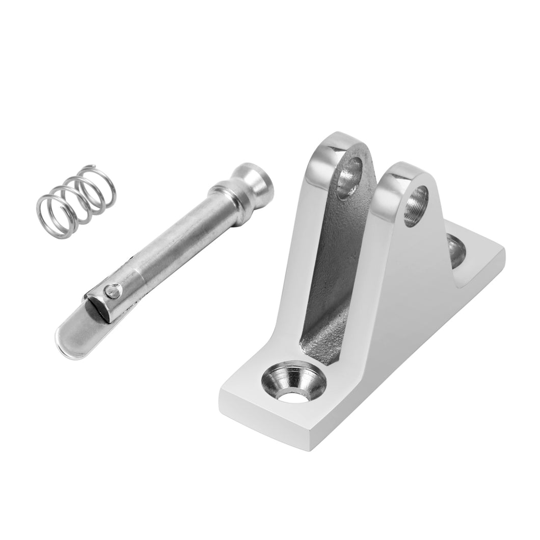 Bimini Top Fitting Deck Hinge Quick Release Pin Boat Stainless Steel