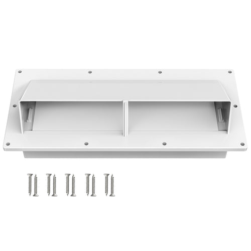 Kohree High Impact Resistance RV Range Hood Cover Stove Vent Cover with Lockable Clips - kohree