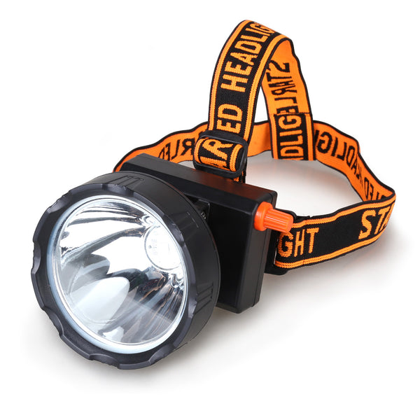 Kohree New 8W 4400mAh Dimmable LED Miner Headlamp Mining Hunting Camping Head Light Waterproof IP68