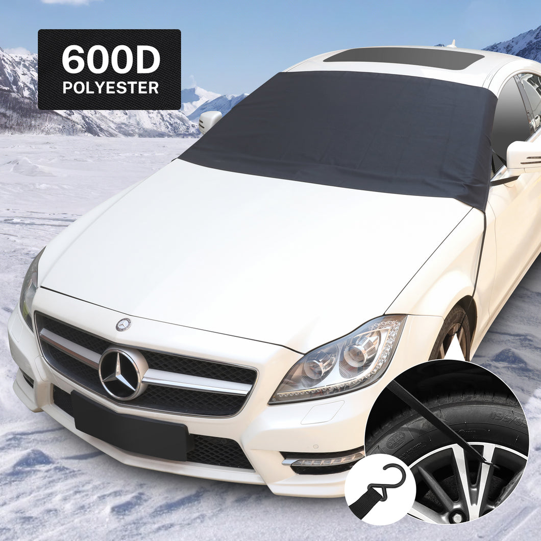 Kohree 600D Oxford Fabric with PVC Coating Car Windshield and Snow Defender Sun Shade Protector