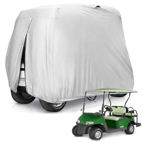 Kohree Waterproof & Sunproof 4 Seat Golf Cart Cover Roof 80