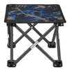 Folding Stool, Portable Camping Stool Chair for Fishing Hiking Gardening and Beach,600D Oxford Cloth with Carry