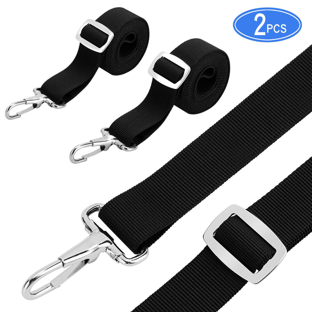Bimini Top Straps Boat Strap Awning Straps Marine Webbing Straps Adjustable with Loops, Snap Hooks 28