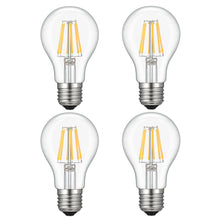 A19 LED Bulb Dimmable, Kohree 6W LED Vintage Lighting Bulbs, 60W Equivalent Bulb, 2700K Soft White, E26 Base for Restaurant,Home,Reading Room,Office, Pack of 4
