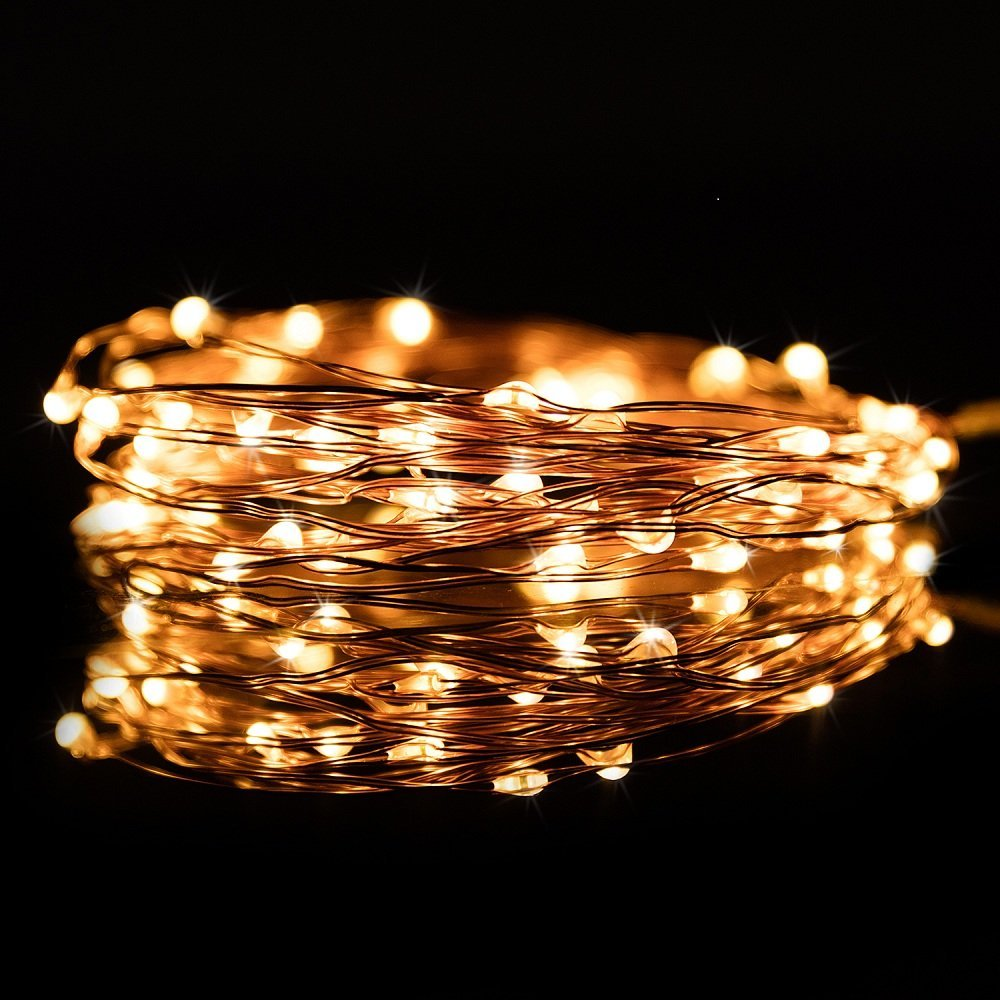 Kohree 60leds string lights with remote control aa battery kohree 60leds string lights with remote control aa battery powered on 20ft6m long mozeypictures Image collections