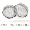 Kohree 2 Packs 2.8 Inch Stainless Steel Mesh Screen with Installation Tool - kohree