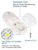 3 Pack LED Dome Light Fixture Double 921 Wedge 2 X 210 LM 12V Natural White,5050 SMD LEDs - kohree