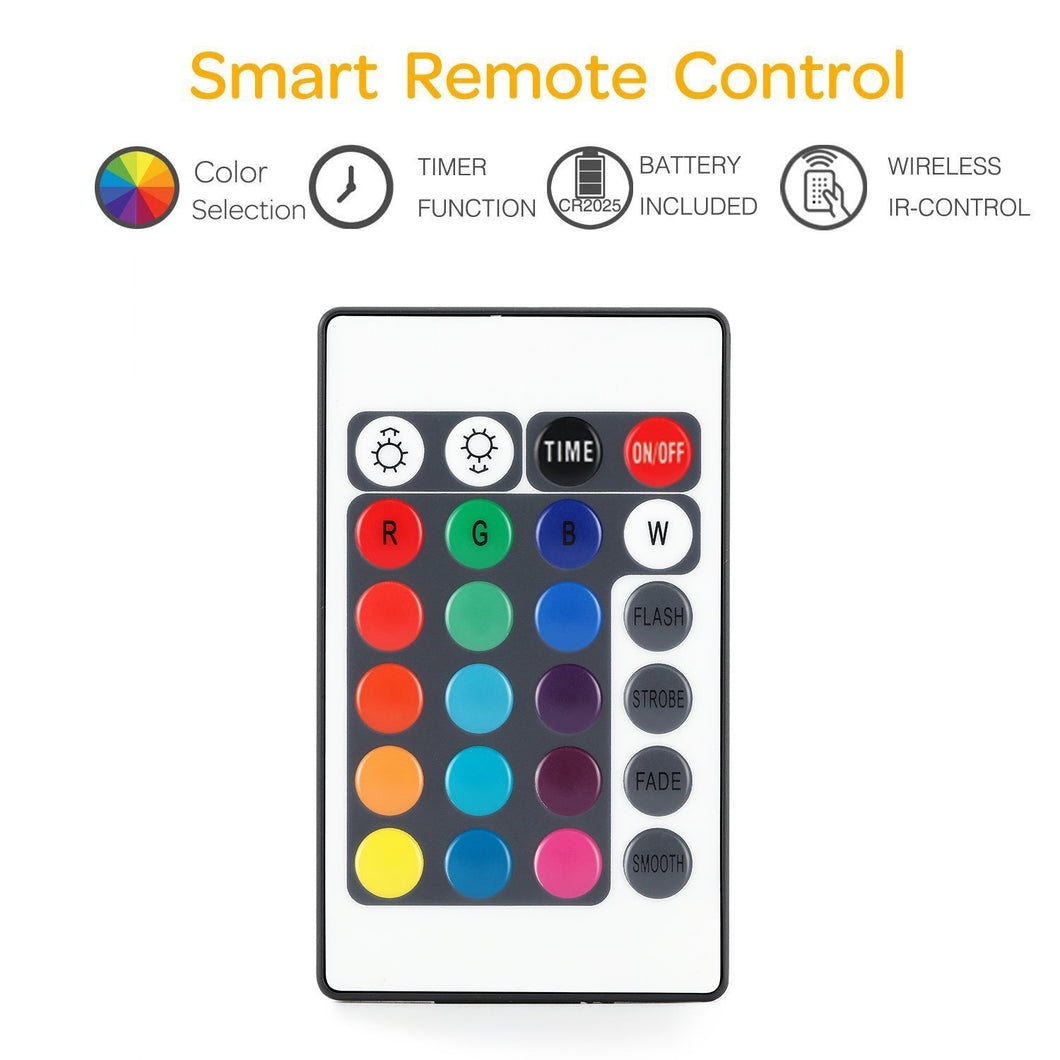 Led String Lightsbattery Powered Multi Color Changing Lights Garden Timer With Remote Control Remote50 Leds
