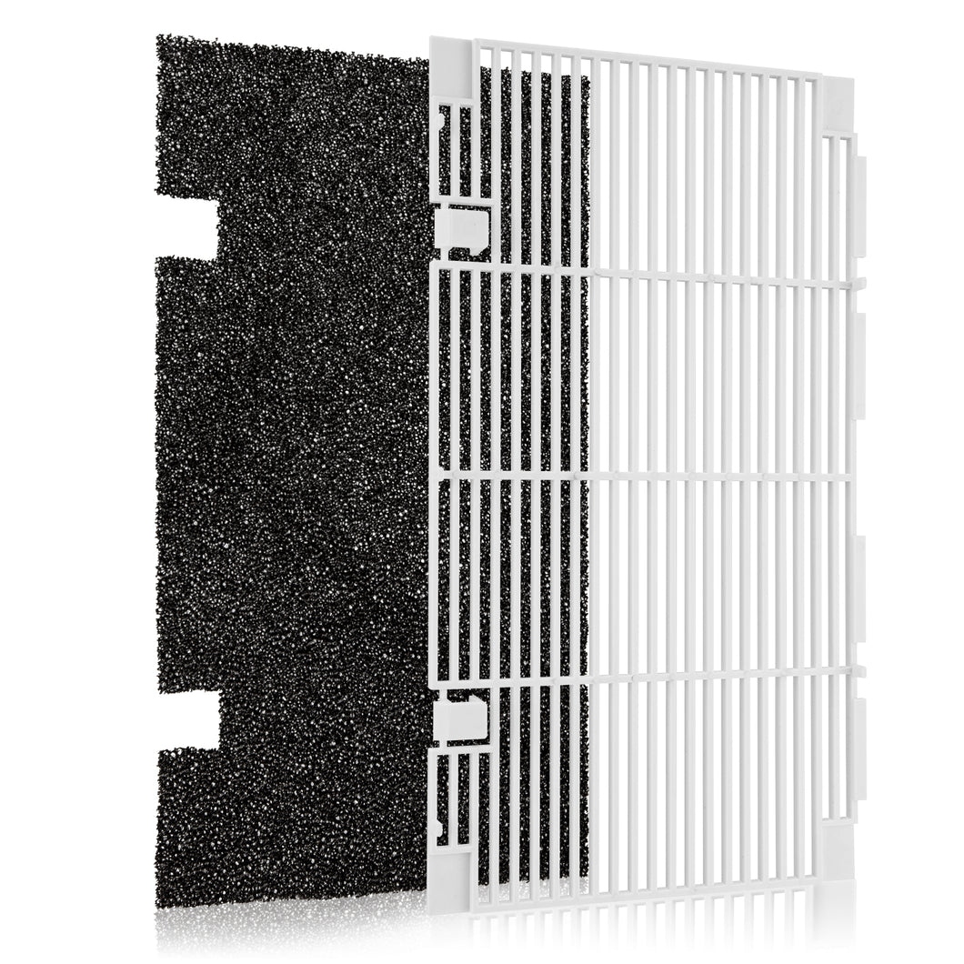 Kohree RV A/C Ducted Air Grille Duo-Therm AC Filter Cover for Dometic 3104928.019,RV Air Conditioner Grille Replacement Parts with Dometic AC Filter Pad - kohree