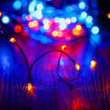 Kohree LED String Lights,USB Powered Multi Color Changing String Lights With Remote,100leds Indoor Decorative Silver Wire Lights for Bedroom ,Patio,Outdoor Garden,Stroller,DecorTree.(33ft)