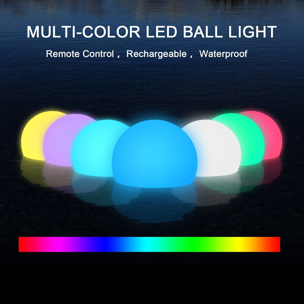 Floating Pool Light, Kohree Light Up Swimming Pool Ball ...