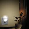 Kohree Automatic LED Night Light Plug-in Wall light With Dusk to Dawn Sensor(White, 4 Pack)