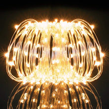 Kohree String Lights LED Copper Wire Fairy Christmas Light with Remote Control, 66ft/20M 200LEDs, UL Listed Seasonal Decor Rope Lights for Holiday, Wedding, Parties, Warm White