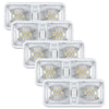 5 Packs Kohree 12V Led RV Ceiling Dome Light Natural White 4000-4500K 600 Lumens - kohree