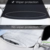 Kohree 600D Oxford Fabric with PVC Coating Car Windshield and Snow Defender Sun Shade Protector - kohree